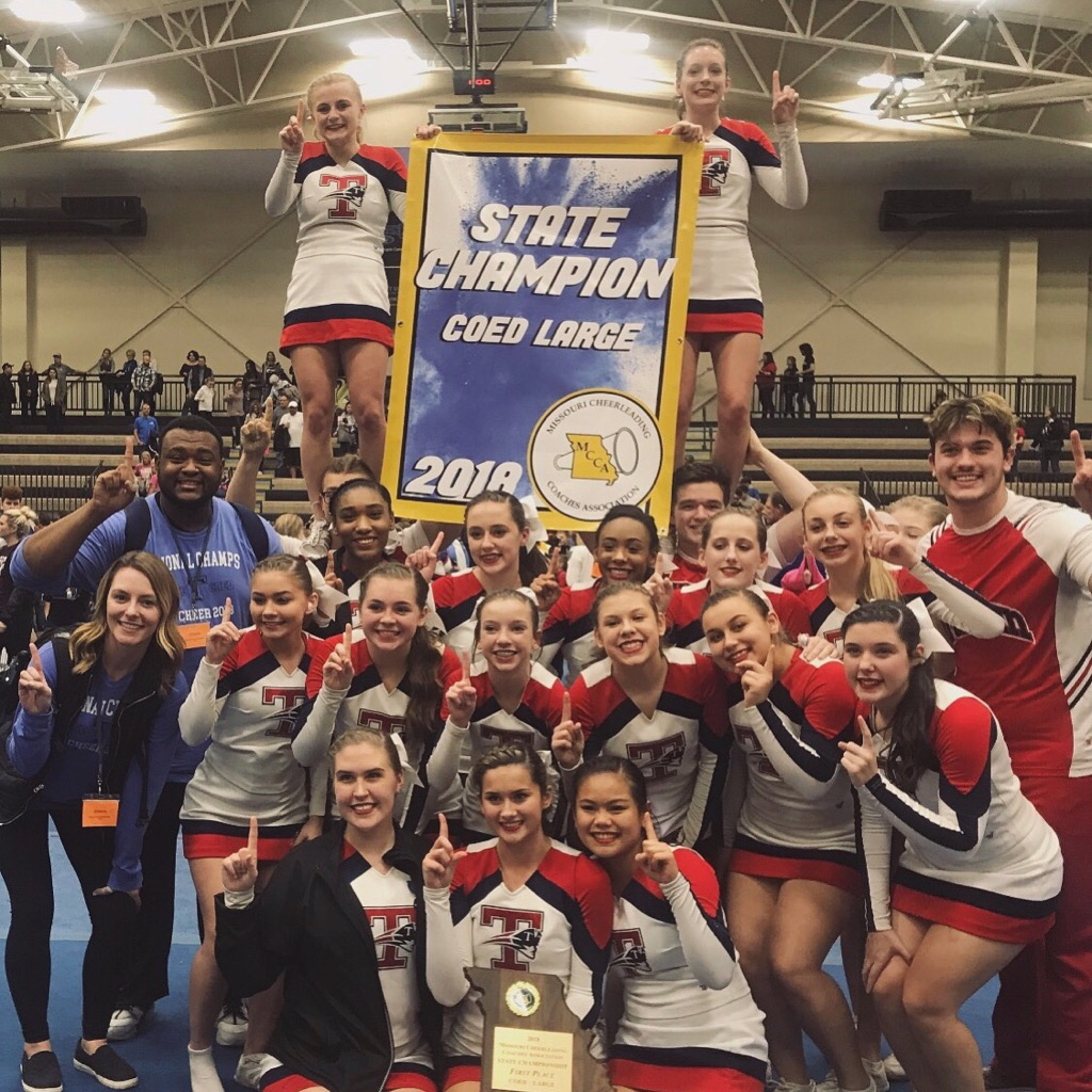 Patriot Cheer State Champs!