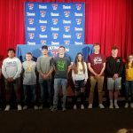 Truman Celebrates Athletic Signing Day
