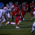 Despite improved effort, Blue Jays top Patriots, 33-13