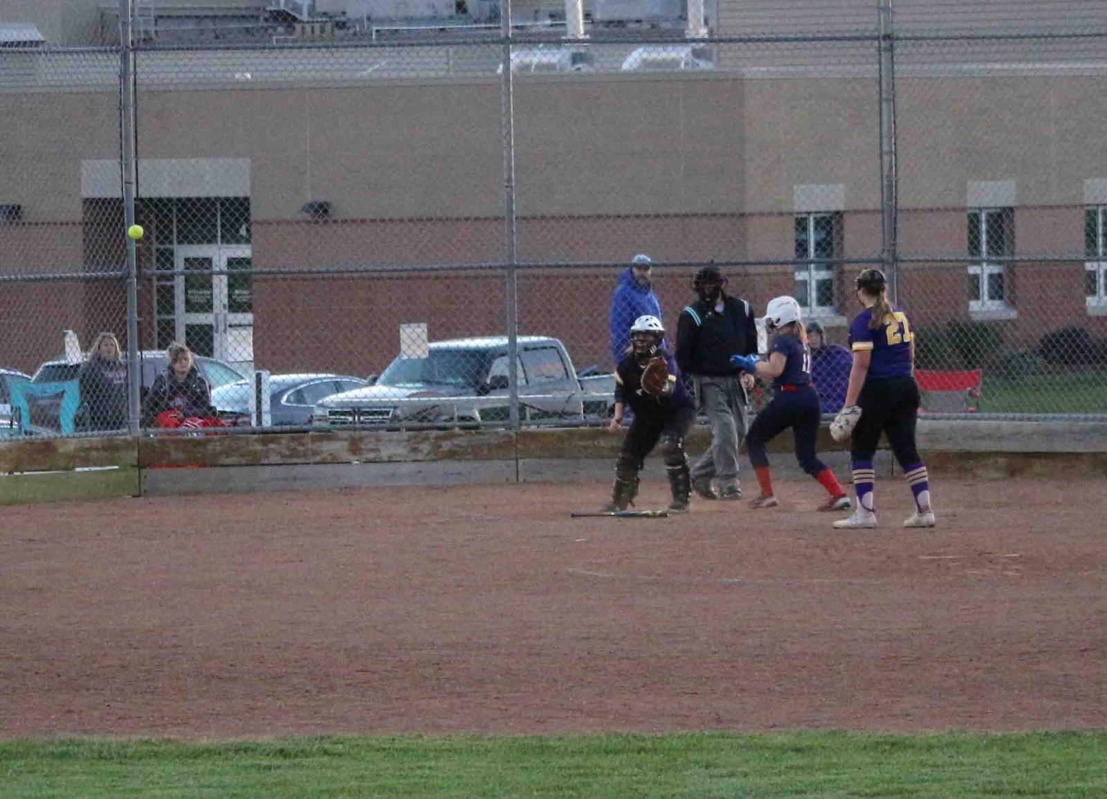 JV Softball at Belton