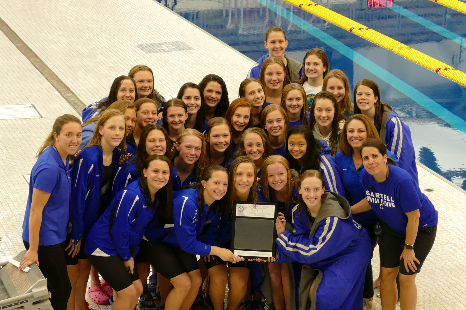 Sabres Swim and Dive Team Finish Strong at True Team State