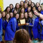 Sartell Sabres Girls Swim and Dive Team Swim to CLC Conference Victory