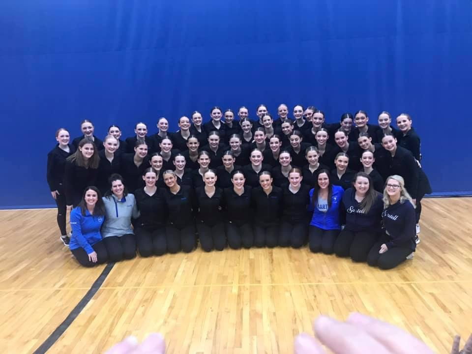 Sabre Dance Team sweeps Academy of Holy Angels Invitational