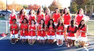 2014-2015 Girls Tennis