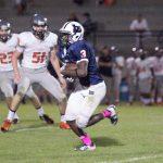 Bob Jones High School Varsity Football beat Virgil I Grissom High School 50-13