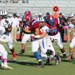 Bob Jones High School Varsity Football beat Huntsville High School 42-21