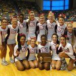 Bob Jones Competition Cheerleaders