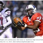 Bob Jones High School: 51 – Sparkman: 16 (6A, 4th-ranked BJ thumps Sparkman to remain undefeated)