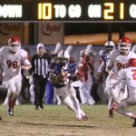 Bob Jones High School: 21 – Hewitt-Trussville: 12 (BJ relies on D to earn victory in Class 6A playoffs)