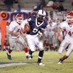 Bob Jones High School: 35 – Hewitt-Trussville: 14 (No fair catch needed as Moore soars for Pats )