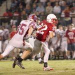 Bob Jones High School: 7 – Huntsville High School: 28 (Sr back, defense provide plenty for HHS highlight reel)