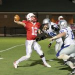 Bob Jones High School: 38 – Florence High School: 22 (Numbers add up for Patriots)
