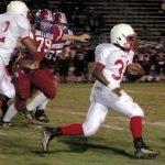 Huntsville High School: 15 – Bob Jones High School: 28 (Seniors have Big Night in Season Finale Win)