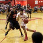 Bob Jones High School Varsity Basketball falls to Austin High School 59-65