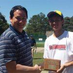 Rettke dominates winning State 7A Tennis Title!