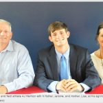 AJ Harmon signs track scholarship with UAH