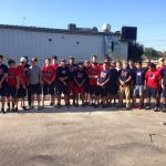 Baseball Team Volunteers at Habitat for Humanity