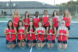 2015-2016 Girls Tennis