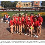 Bob Jones Visit Disneyland While Playing In California Challenge