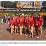 Bob Jones Visit Disneyland While Playing In California Challenge