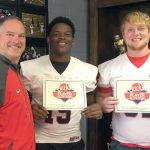 Jacobye Green & Caleb Lawson – Remax Players of the Week against Grissom
