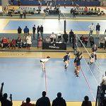 Bob Jones High School Girls Varsity Volleyball beat Oak Mountain High School 3-0
