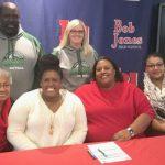 Taylor Weddington Signs Softball Scholarship