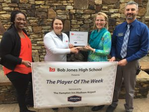 Hampton Inn Player of the Week