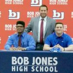 Patriots' Wrestlers Sign Scholarships