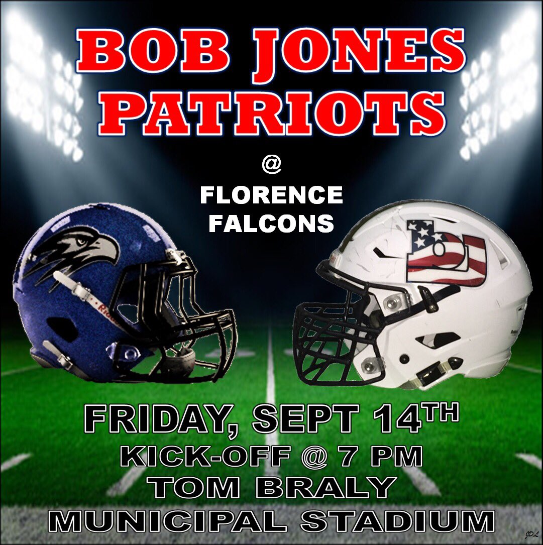 Football Friday at Florence – WEAR WHITE!!
