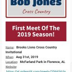 August 31st Cross Country Meet Information