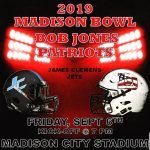 Information for Friday's Madison Bowl