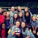 Volleyball Finishes the Season in the Final Four