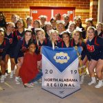 Cheerleaders win 1st Place at UCA North Alabama Regional