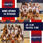 Basketball GAME DAY!!  Home Game vs Grissom