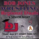 Wrestling Senior Night is Tonight