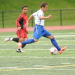 Boys Soccer Defeats Boston International 2-1