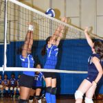 Lady Blue Devils sweep series with Mt.Alvernia