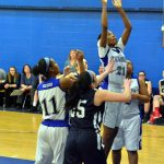 Randolph High School Girls Varsity Basketball beat Blue Hills Regional Tech School 61-40