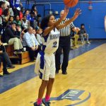 Randolph High School Girls Varsity Basketball falls to East Bridgewater High School 39-66