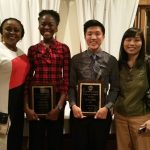 Igharosa & Wu recognized as South Shore League Scholar-Athletes