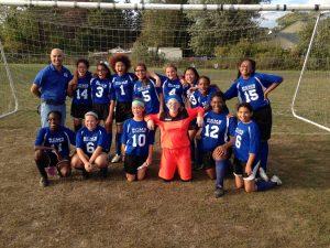 RCMS Girls Soccer 2015