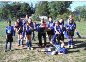Girls Middle School Soccer 2016