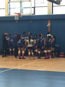 Girl's Varsity Volleyball 2016