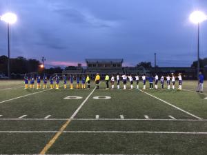 Varsity Girl's Soccer Senior Night 2016