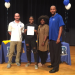 Congratulations to Kiara Felix for signing NLI to run track at AIC!!