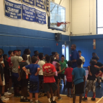 RHS Boys Basketball Camp off to a great start with guest speaker Tony Price!