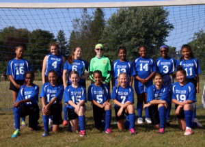 Middle School Girls Soccer 2017