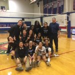 Randolph High School Girls Varsity Volleyball falls to Sacred Heart 3-0