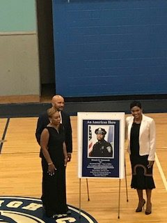"Randolph High School Gym Dedicated to Dennis ""DJ"" Simmonds"